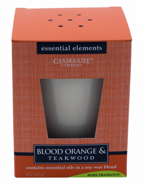 Duftkerze Blood Orange & Teakwood - 255g