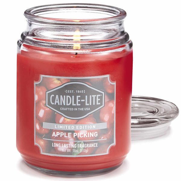 Set Duftkerze Apple Picking 510g inkl. Burning Cap Handwriting (1-2-3 TV)